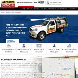 Plumber Oakhurst - 2761 NSW