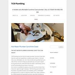 Hot Water Plumber Sunshine coast
