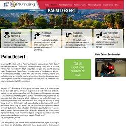 Palm Desert Plumbing