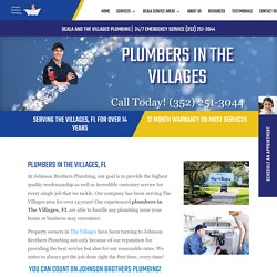 Looking for Plumbers in The Villages?