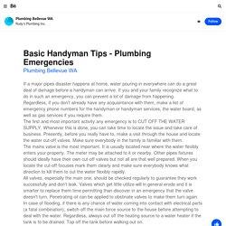 Plumbing Bellevue WA on Behance