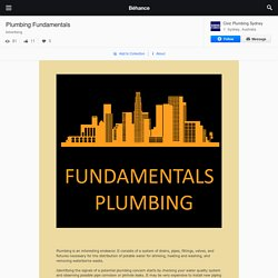 Plumbing Fundamentals on Behance