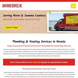 Plumbing & Heating Services in Novato