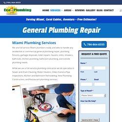 Miami Plumbing Services – 24/7 Emergency Plumbing Repair