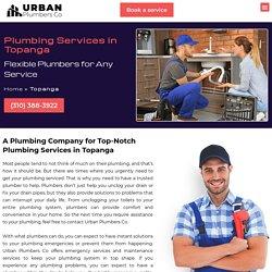 Top Quality Plumbing Services in Topanga