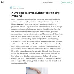 Plumbingcork.com: Solution of all Plumbing Problems