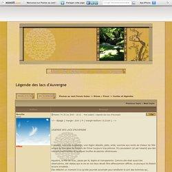 Légende des lacs d'Auvergne