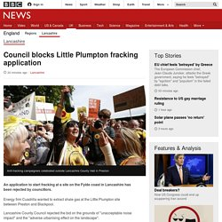 Council blocks Little Plumpton fracking application