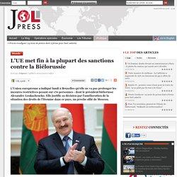 L'UE met fin à la plupart des sanctions contre la Biélorussie