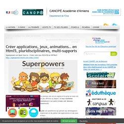 Développer en HTML5 sans code (applications, jeux, animations…)