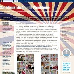 """eTwinning: Artistas europeos y """"Mannequin Challenge"""""""