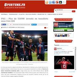 PSG : Plus de 550M€ investis en transferts sous l'ère QSI