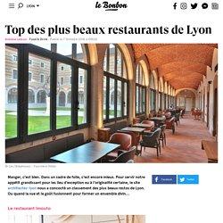 Top des plus beaux restaurants de Lyon