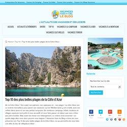 Top 10 des plus belles plages de la Côte d'Azur - Vacances Vues du Blog