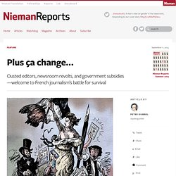 Plus ça change... - Nieman Reports