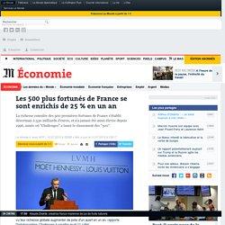 Les 500 plus fortunés de France se sont enrichis de 25 % en un an