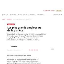 Classement des entreprises internationales par employés
