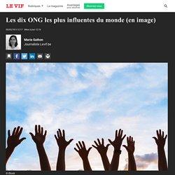 Les dix ONG les plus influentes du monde (en image)