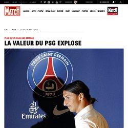 Plus qu'un club, une marque - La valeur du PSG explose
