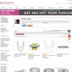 Plus Size Jewelry