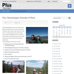 Plus Technologies Outside of Work