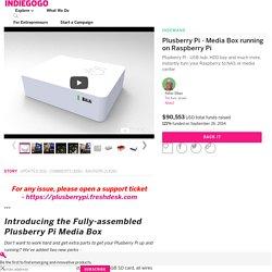 Plusberry Pi - Media Box running on Raspberry Pi