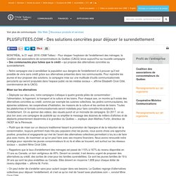PLUSFUTEES.COM - Des solutions concrètes pour déjouer le surendettement