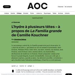L'hydre à plusieurs têtes – à propos de La familia grande de Camille Kouchner