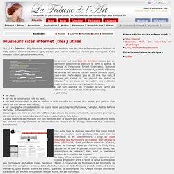 Plusieurs sites internet (très) utiles