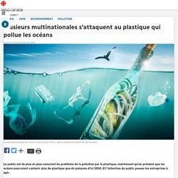Plusieurs multinationales s'attaquent au plastique qui pollue les océans