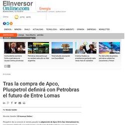 Tras la compra de Apco, Pluspetrol definirá con Petrobras el futuro de Entre Lomas