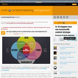 De vijf absolute pluspunten van infographics! - Content Marketing Management