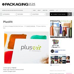 PlusVit on Packaging of the World