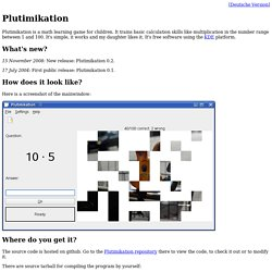 Plutimikation Homepage