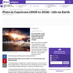 Pluto in Capricorn (2008-2023) - What Does it Mean?