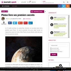 Pluton livre ses premiers secrets