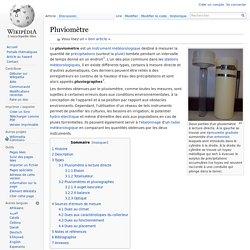 Pluviomètre (Wikipédia)