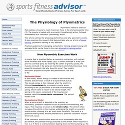 Plyometrics... Sample Programs & Animated Drills