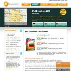 PLZ Datenbank Deutschland