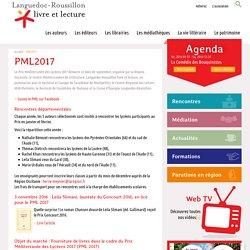 PML2017, Languedoc-Roussillon livre et lecture