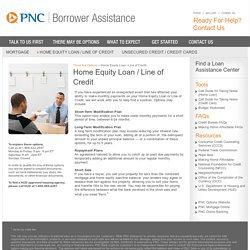 PNC Borrowers Assistance