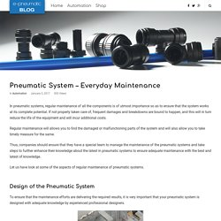 Pneumatic System - Everyday Maintenance
