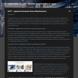 ASTT - Japanese Pneumatic Device Manufacturers