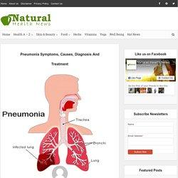 Pneumonia Symptoms, Causes, Diagnosis And Treatment