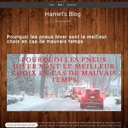 les pneus hiver - harriets-blog.simplesite.com