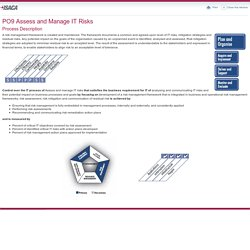 PO9 Assess and Manage IT Risks