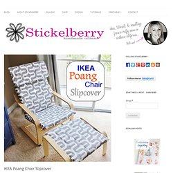 IKEA Poang Chair Slipcover