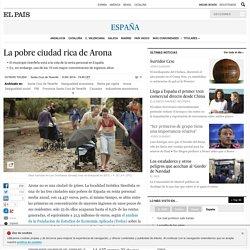 La pobre ciudad rica de Arona