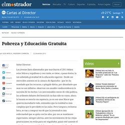 Pobreza y Educación Gratuita