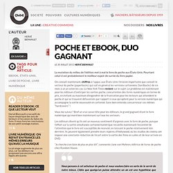 Poche et ebook, duo gagnant